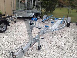 6 M BOAT GALVANISED TRAILER Salt Ash Port Stephens Area Preview