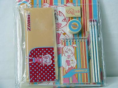 BRATZ 11 pc Stylin Study Set - Notebook Folders Pencils and More