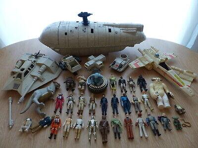 Vintage Star Wars 30 Figures Job Lot Collection +Lander Speeder X-Wing (#2 of 3)