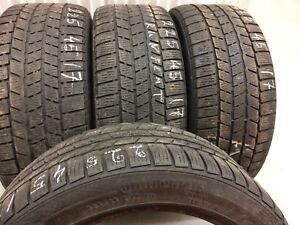 4 Continental Runflat winter tires:225/45R17