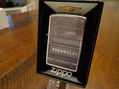 CHEVY CHEVROLET PICKUP TRUCK BED VINTAGE LOOK ZIPPO LIGHTER