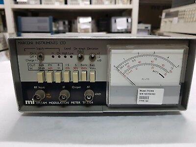 Marconi Tf2304 Fmam Modulation Meter