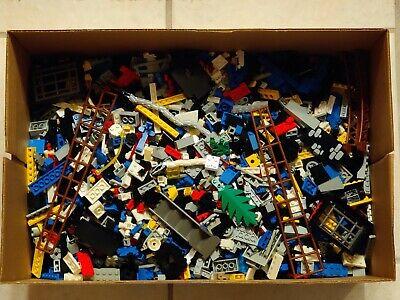 Huge vintage (1970s+) LEGO bulk lot - 15 pounds of bricks, sets, minifigs, etc.