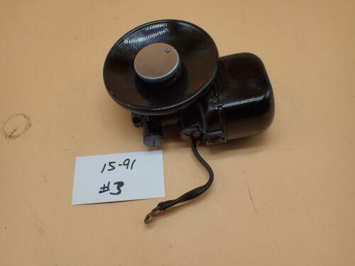 Vintage Original Singer 15-91 Sewing Machine Gear Drive Potted Motor TESTED # 3
