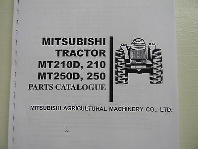 Mitsubishi Mt210 Mt250 Tractor Parts Manual