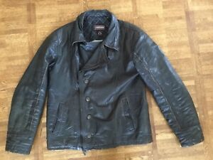 Vintage motorcycle leather jacket from Danier