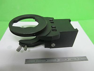 Microscope Part Olympus Optics Condenser Holder As Is Bin64-10