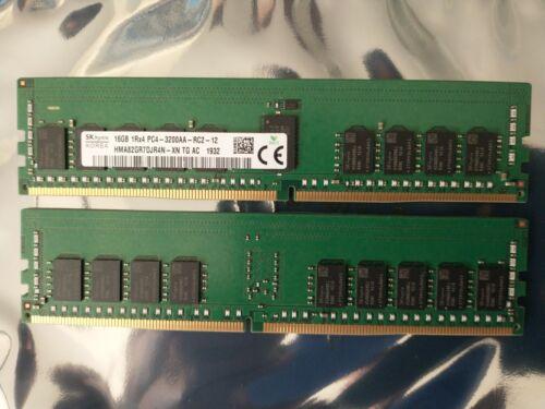 HYNIX 16GB DDR4 HMA82GR7DJR4N-XN 1RX4 PC4-3200 RDIMM Server  Memory