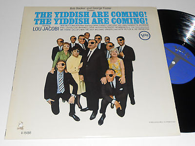 THE YIDDISH ARE COMING M- true Cast Lou Jacobi Verve V-15058 First Family