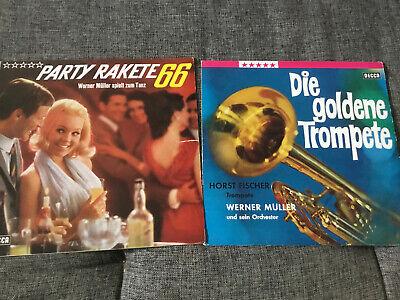 Werner Müller Und Sein Orchester [2 LP Vinyl] Goldene Trompete + Party Rakete 66