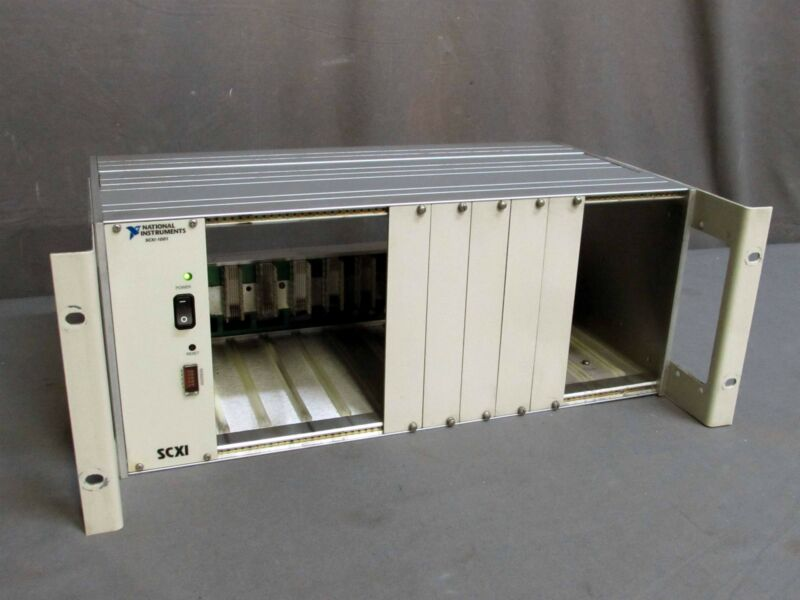 National Instruments SCXI-1001 181455M-01 12-Slot Chassis