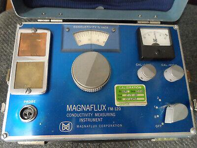 Magnaflux Magnatest Fm-121120 Conductivity Measuring Instrument Meter Tester