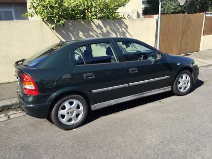 2000 Manual Holden Astra TS CD Hatchback, LOW KMs Richmond Yarra Area Preview