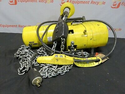 Budgit 2 Ton Chain Hoist Beh021c Electric Overhead 3 Three Phase