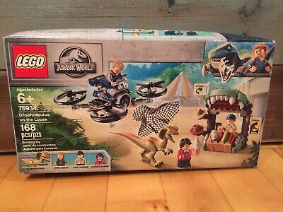LEGO Jurassic World Park 75934 Dilophosaurus on the Loose 168 pcs Worn Box