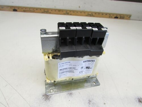 SIEMENS 6SL3203-0CE21-8AA0 3PH LINE REACTOR 380-480V 22.3A NEW NOT IN BOX M/O!!