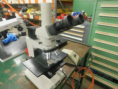 Nikon Optiphot Microscope With Light Source