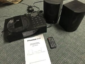 Sylvania iPhone/iPod docking system with CD player