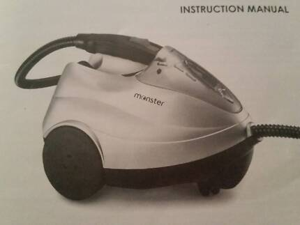 MONSTER DOMESTIC STEAM CLEANER WITH ALL ACCESSORIES Bridgeman Downs Brisbane North East Preview