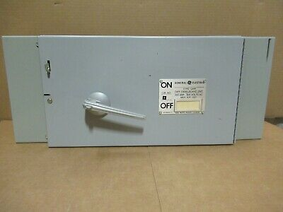 Ge Thfp364 Hardware 200 Amp 600 Volt 3p Fusible Qmr Switch -warranty