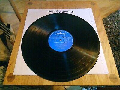 Very Best Of New York Dolls Vinyl LP  Record Rare Japanese Press RJ7234 EX