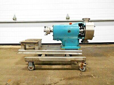 Mo-2893 Alfa Laval Sr 4079hs3 Positive Displacement Pump. 2 1-12 Ports.
