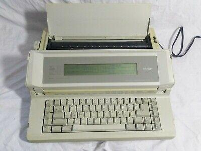 Vintage Tandy Wp-100 26-3950 Portable Word Processor