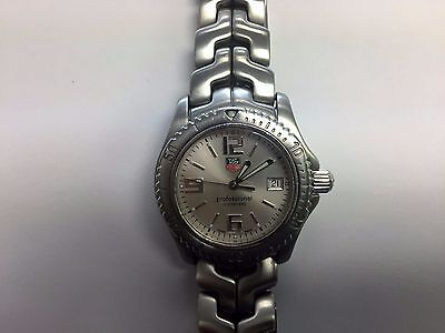 Tag Heuer Link WT1212 Quartz 36mm Stainless Steel Mens Watch Date