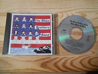 CD Blues Blues Brothers Band - Red, White & Blues (10 Song) WEA