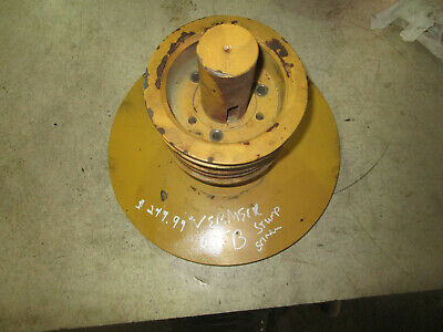 Vermeer 665b Stump Grinder With Deutz Engine Pulley And Shaft With Guard