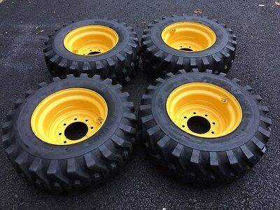 12-16.5 New Skid Steer Tireswheelsrims New Holland L175l221l223l225l230