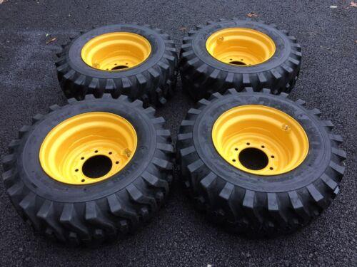 12-16.5 NEW Skid Steer Tires/Wheels/Rims New Holland L175,L221,L223,L225,L230
