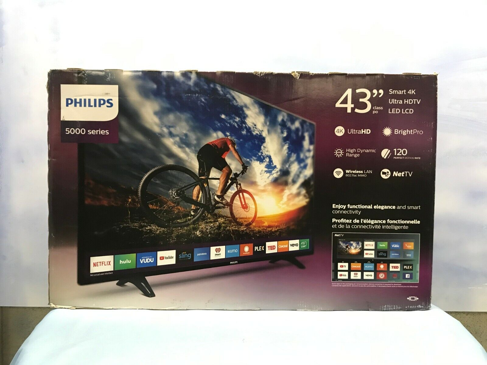 Philips 5000 series 43 inch 4K UHD Smart TV - Ships Today