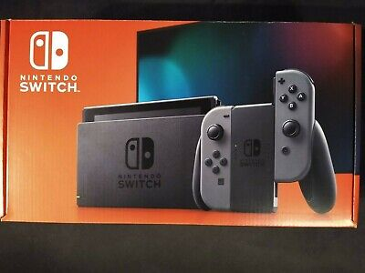 Nintendo Switch 32GB Console with Gray Joy‑Con NEW IN HAND FREE SHIPPING