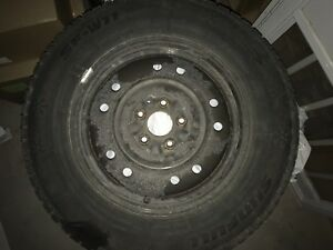 4 Snow Tires and Rims - 215/70R16