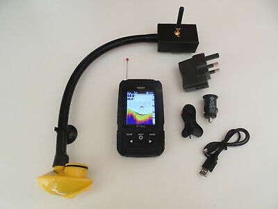 Colour screen Bait boat fish finder, + 150 m range, East attachment to boat