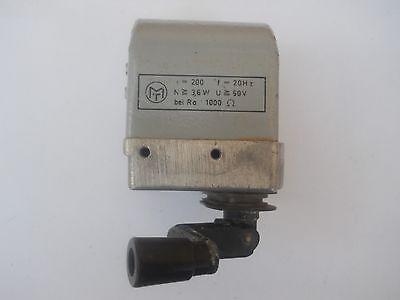 Vintage Hand Driven Megger Hand Crank Megohmmeter 60v 1000ohm 20hz Ff-09zb1
