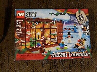 NEW LEGO City: Advent Calendar (60235) 234 pcs/pzs