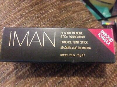 Iman Second To None Stick Foundation Clay4