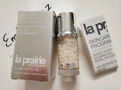 La Prairie White Caviar Illuminating Pearl Infusion 5ml/0.17oz NEW FRESH