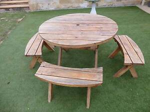 Solid pine outdoor furniture Salisbury Heights Salisbury Area Preview