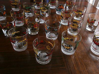 22 whiskey gläser trinkgläser oldtimer  vintage
