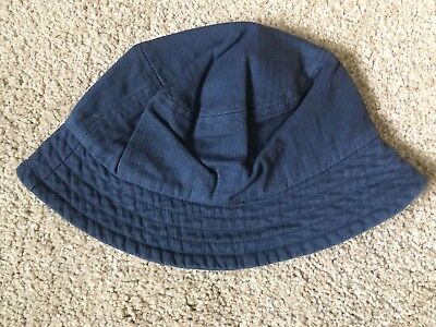 BNWOT Next Summer Hat. Floppy. Boys Or Girls. Age 3-6 Years. Dark Blue.