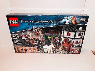 LEGO PIRATES OF THE CARIBBEAN THE LONDON ESCAPE 4193 FACTORY SEALED