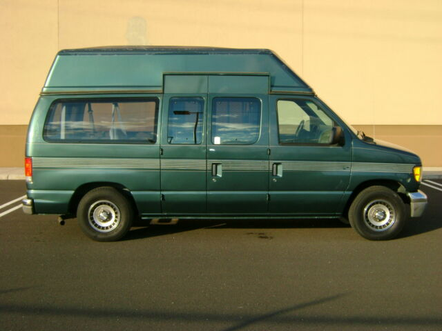 1997 ford e150 club wagon handicap conversion van low 87k. Black Bedroom Furniture Sets. Home Design Ideas