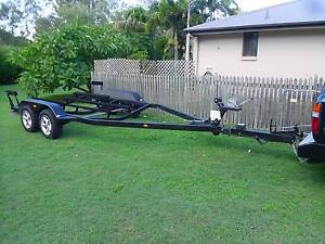 Galvanised Tandem Boat Trailer, Four Winns, 6M +, 3.2 Tonne Cap. Oxenford Gold Coast North Preview