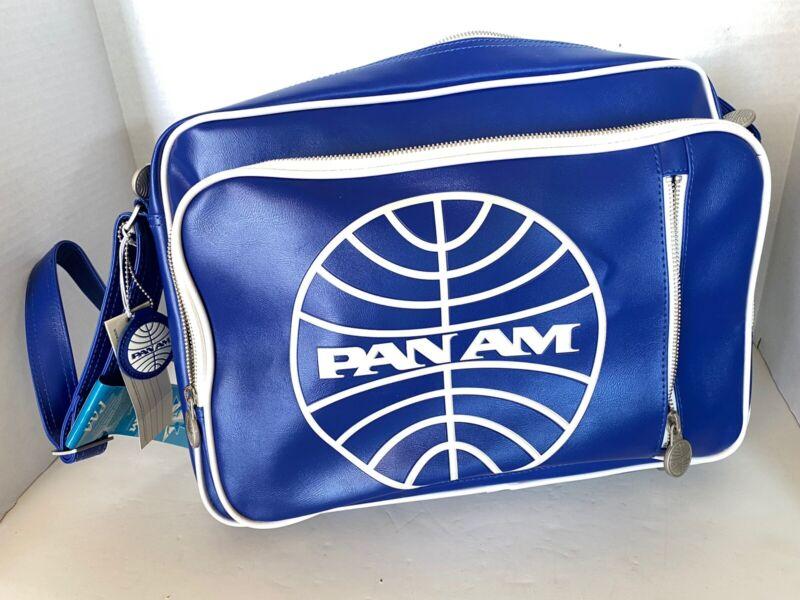 "PAN AM ""Secret Agent Reloaded"" Bag Certified Vintage Style Pan Am Blue"
