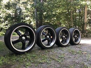 """Boss Motorsport 22"""" Tires & Rims"""