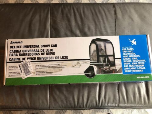 Arnold Deluxe Universal Snow Cab Thrower Blower Cover 490-24