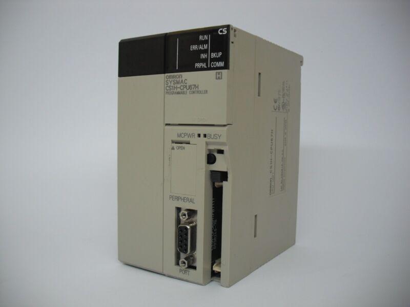 Omron Sysmac Cs1h-cpu67h  Ver 4.0 Programmable Controller